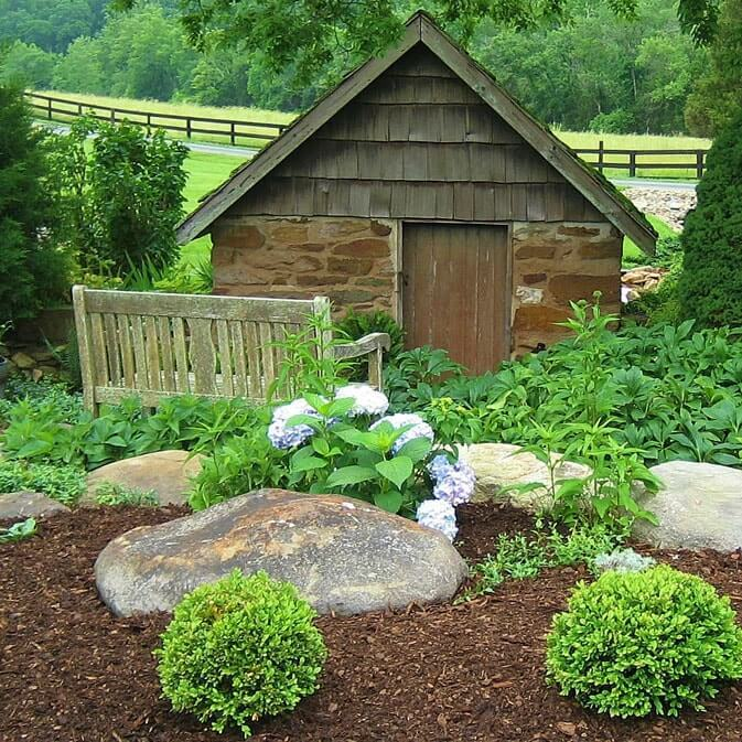 Mulching Roses Bushes: Charlottesville Landscaping Supplies